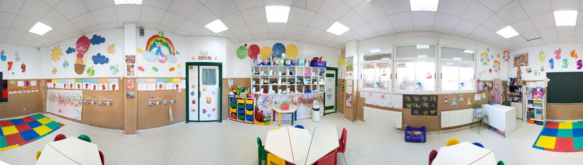Colegio el valle valdebernardo visita virtual for Riesgos laborales en una oficina